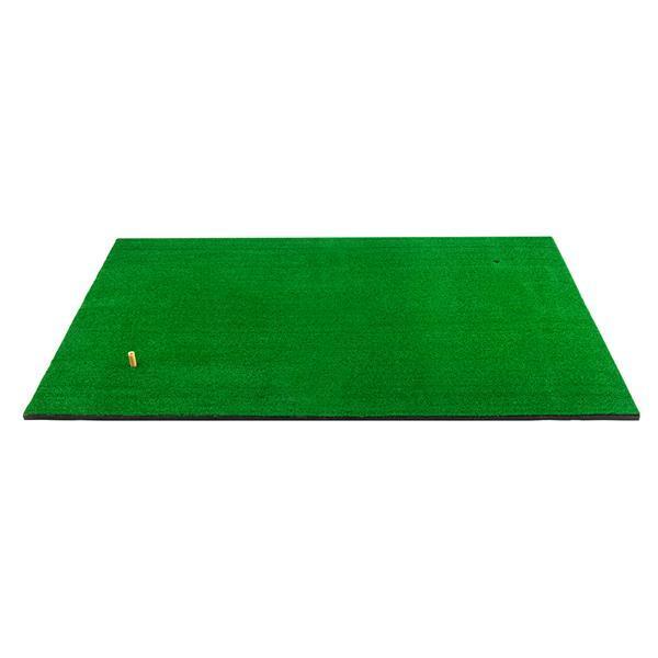 Golf Double Trou Grève Pad * 5ft entraînement pour le golf de sport 3ft Aids Golf Tapis adapté à des exercices intérieurs et extérieurs vert