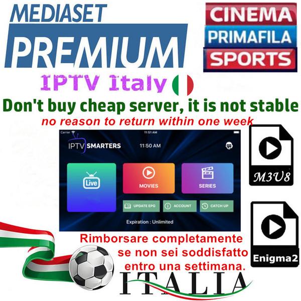 Smarters IPTV Italy IPTV Free 06.01.12 IPTV-Abonnement Dazn Italian Mediaset Premium mit über 660 italienischen Sendern