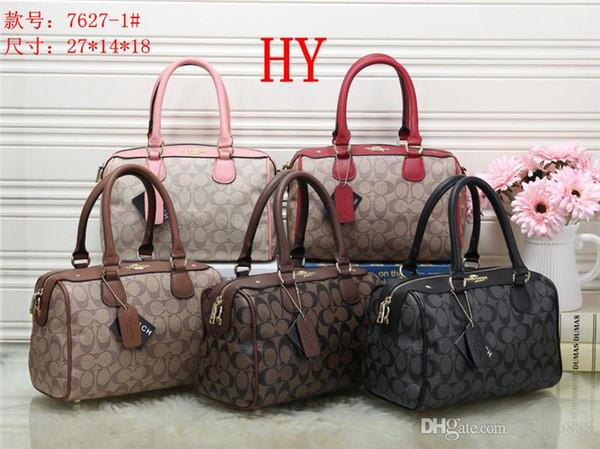 2019 styles Handbag Fashion Leather Handbags Women Tote Shoulder Bags Lady Handbags Bags purse HY7627-1