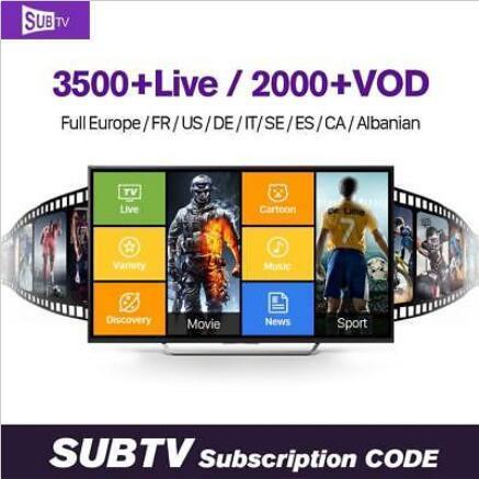 ubtv смарт IPTV subtv АПК телеканале subtv код для продления subtv канала для коробки TV AX5 и тв