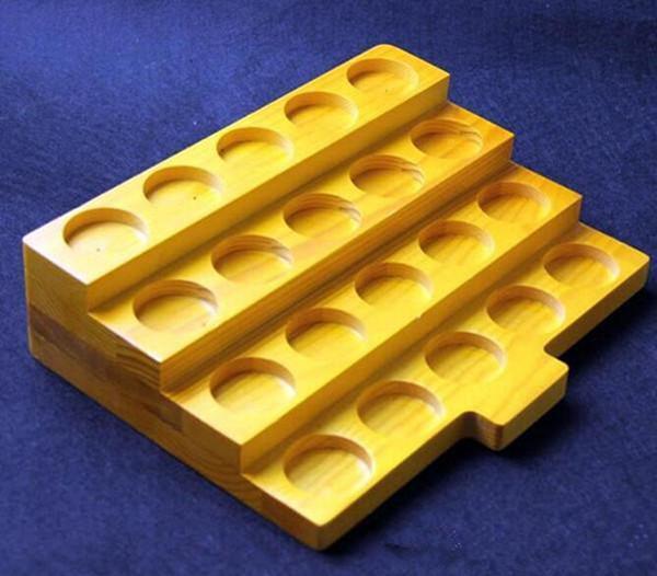 e cigarette wooden display stand shelf holder vape rack for e liquid bottle vapor drip tip mouthpiece ecig vaporizer pen mech mod mechanical