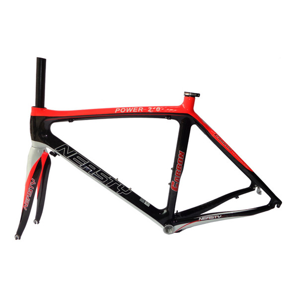 Christmas Price Reduction Red Label Frame Ride Equipment Accessories 48-56CM 12K Carbon Fiber Bicycle Road Frame NEASTY Brand Made in China