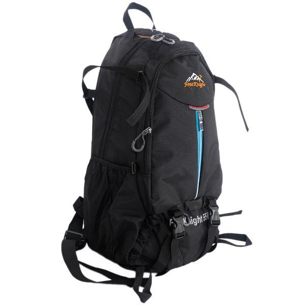 Free Knight FK0219 55L Outdoor Waterproof Nylon Hiking Camping Backpack Black