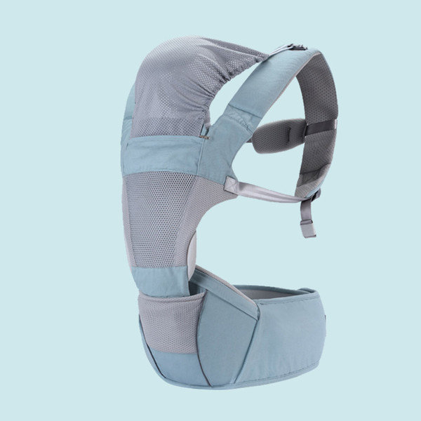 Multifunction Outdoor Kangaroo Baby Carrier with Hood Sling Backpack Infant Hipseat Adjustable Wrap for Carrying Children 801