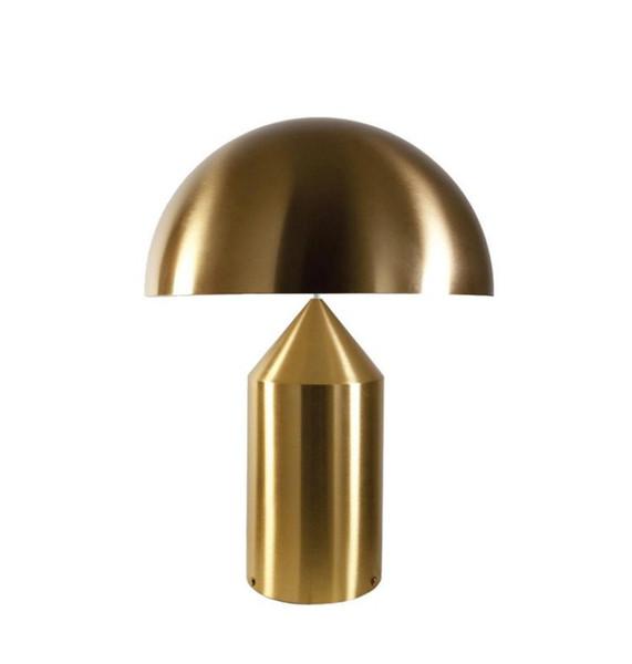 Italien Compasso d'oro Oluce Atollo Moderne Schreibtischlampe Pilz Tischlampe Nachttischlampe