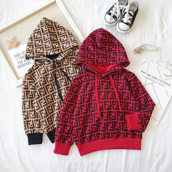 2019 Yeni Stil Çocuk Takım Elbise Bahar Sonbahar Bebek Takım Elbise Giydirin Çocuklar Rahat Bebek Kız Erkek Set Kostüm Giydirin için Ücretsiz nakliye