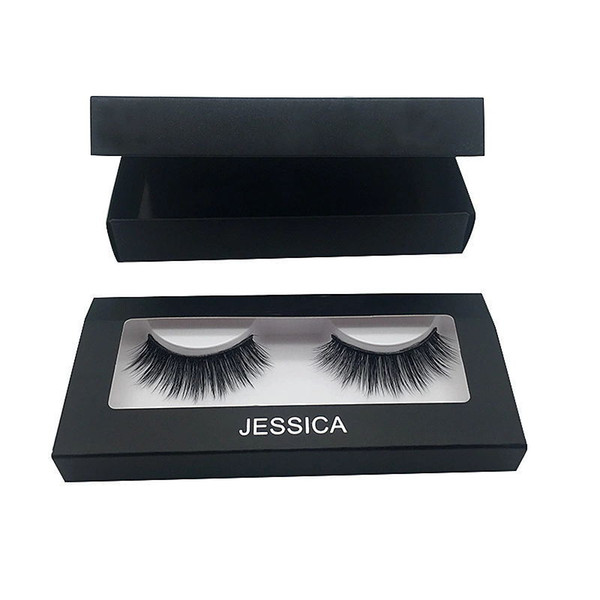 #1 Giselle #2 Alyssa Women's Eyelashes new 18 Types One Pairs 3D Mink Hair Hand-folding Eyelashes Magnetic Box Soft Thick Messy Cross Black