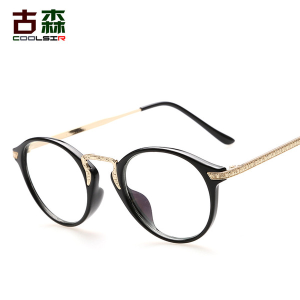Men and Women Anti-radiation Anti-fatigue Goggles Flat Light Decorative Internet Glasses Retro Glasses Frame Wholesale