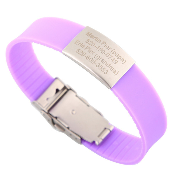 Purple-Can be cut short