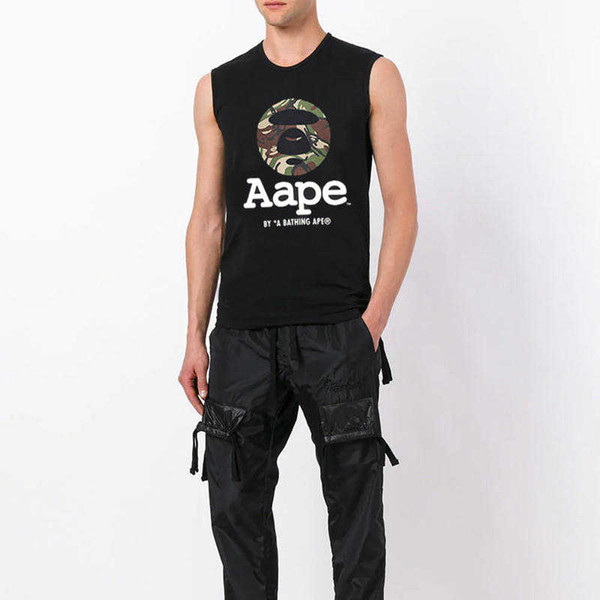 Männer Frauen Markenwesten Mode Sommer Ärmellos Designer Westen 2019 Sommer Neuankömmling Herren Damen Tanks Top Tees Luxus T Shirts.