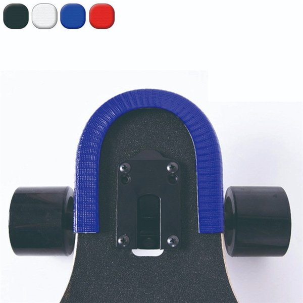 Skateboard Deck Guards-Schutz U-Kanal Design-Gummi und Stahl Mode Bumpers Bump Longboard-Tanz-Brett Absturz Gummistreifen