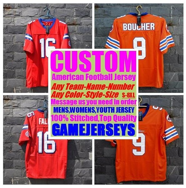 best selling 2019 Customized american football jerseys college cheap authentic discount sports Jersey stitched mens womens youth kids new 4xl 5xl 6xl 7xl