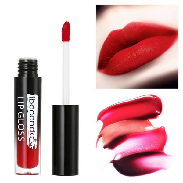 1PCS Matte Lip Gloss Maquiagem Matt Liquid Lipstick Women Make up Cosmetics Batom Beauty Lips Makeup Lipgloss #288866