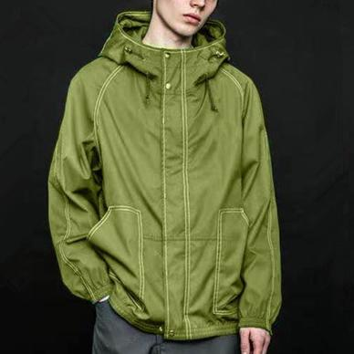 Designer Sport Brand Jackets Hoodie Mens Womens Spring Autumn Windbreaker Green Zipper Active Jacket winte Windbreakers Top Quality B100292V