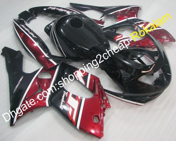 Yzf600R Thundercat ABS cubierta plástica apta para Yamaha YZF 600R 1997-2007 YZF-600R 97-07 YZF 600 R Carenado del kit del mercado de accesorios