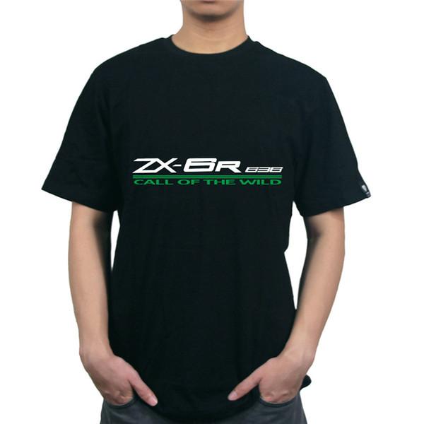 KODASKIN O Ansatz MOTO Stil reine Baumwolle 100% kühle stilvolle Outwear Customized lose Für ZX-6R 636 Männer-T-Shirt