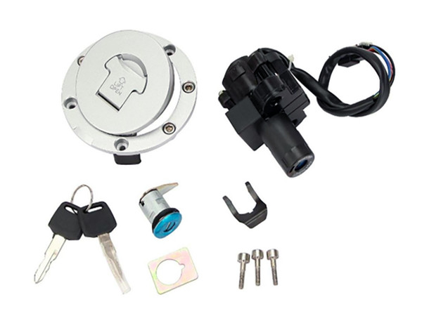 Motorcycle Seat Lock Ignition Switch Fuel Gas Cap Lock Key Set Fit For Honda CBR600 CBR 600 F2 F3