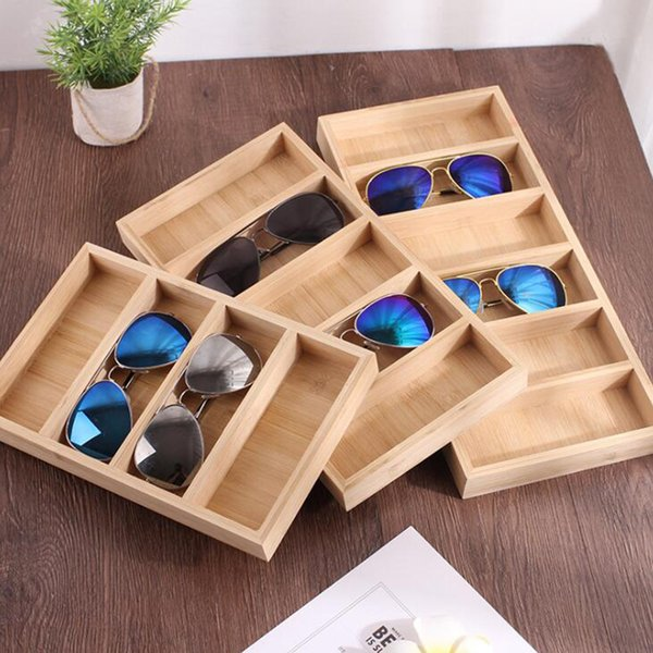 Sunglasses Glasses Retail Shop Jewelry Display Stand Storage Box Case Tray Sunglasses Eye wear Display Tray Case Stand hot sale