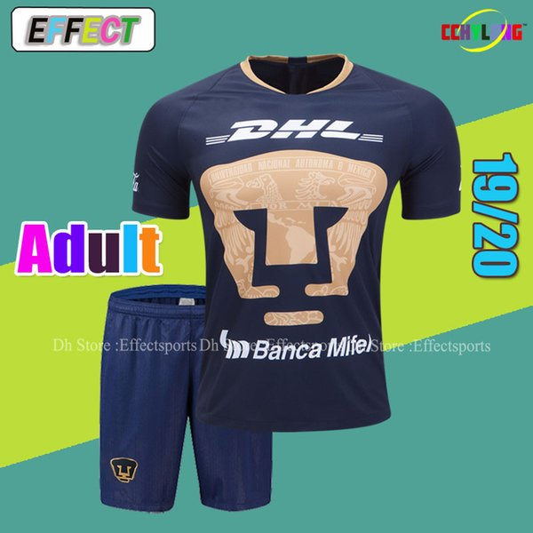 Thailand 2019 Club America Soccer Jerseys Men Kits Liga MX Cruz Azul Camisetas de Futbol Football Shirt Tigres Third UNAM Adult Sets