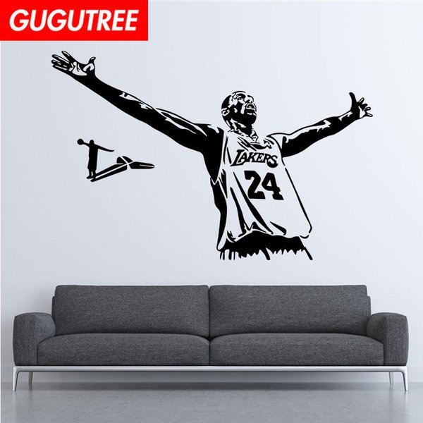 Decorate Home basketball cartoon art wall sticker decoration Decals mural painting Removable Decor Wallpaper G-2094