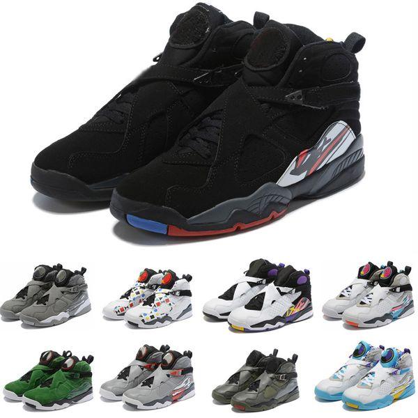 2020 J8 Erkekler 8 basketbol ayakkabıları Classics VIII spor sneaker Basketbol botları size7-13