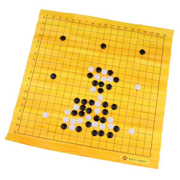 best selling WeiQi Go Game Set Pieces Folding with Board Board Games Plastic Playset Toys