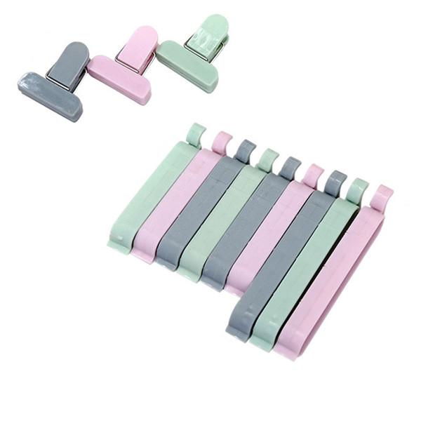 12 Teile / satz Plastiktüte Sealer Snack Frische Lebensmittel Aufbewahrungstasche Clips Küche Werkzeug zubehör Mini Vakuum Versiegelung Clamp Lebensmittel Clip