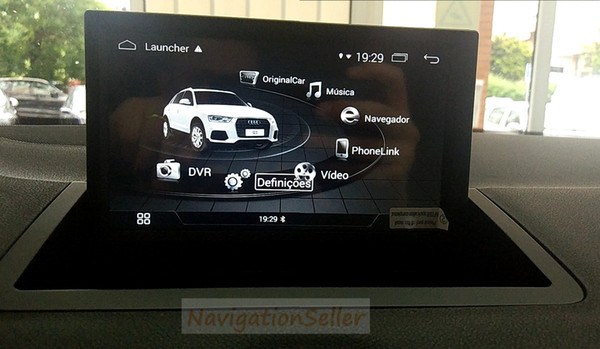 7.0 inch Android4.4.4 RAM 1G ROM 16G Car stereo CAR DVD player GPS Navigation mltimedia for AUDI A1 oem screen RMC system 2010-2015