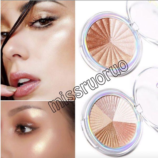 best selling 2019 Face makeup CmaaDu cosmetics Highlighter Brighten Shimmer Powder Palette Base Illuminator Long Lasting Face Contour Bronzer epacket