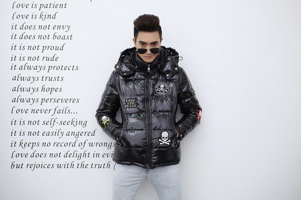 Neue lässige Mode Daunenjacke 17FW Herren Designerjacke Herren Warme und warme Winterjacke 03-280