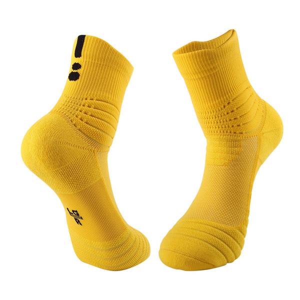 Professional basketball socks towel bottom non-slip male sports socks loops football soccer ball long breathable outdoor socks