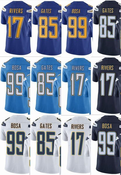 best sneakers ff9b4 fc498 2019 Charger 99 Joey Bosa 17 Philip Rivers 85 Antonio Gates Men Women Youth  Vapor Untouchable Color Rush Custom Elite Football Jersey From ...