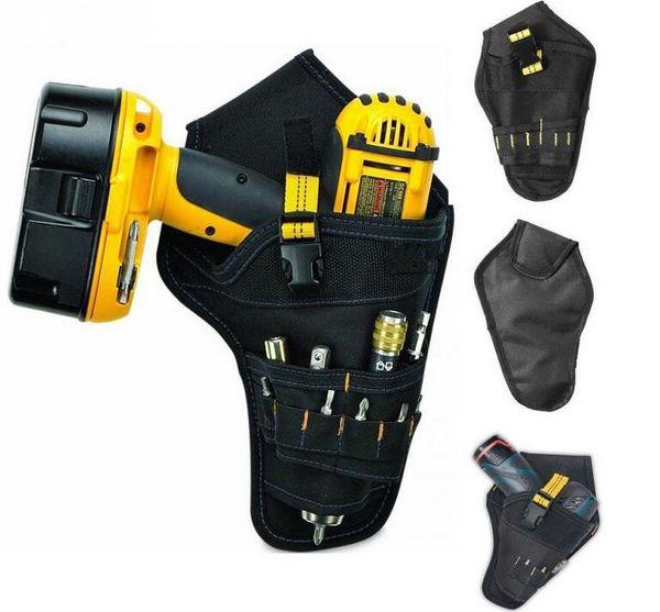 Borsa per elettricista portatile Borsa per attrezzi Impact Driver Drill Holster Borsa per batteria elettrica senza cordone