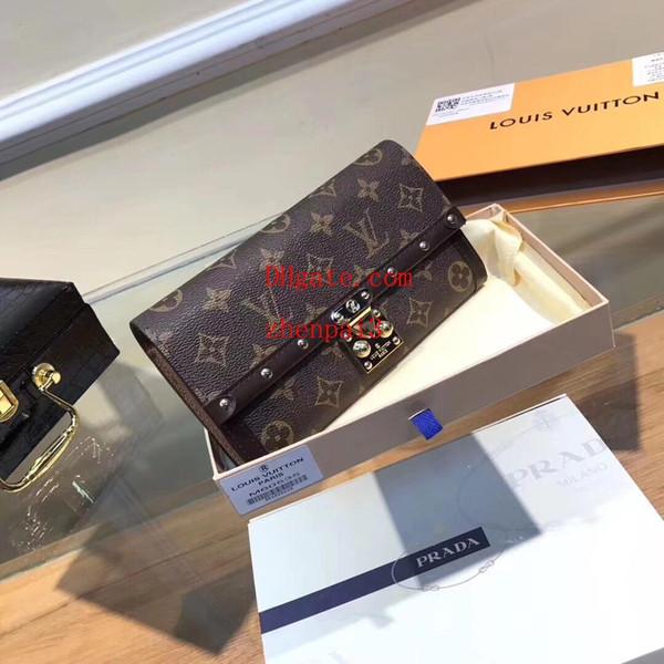 2019 borsa di marca Classic rivetto in rilievo portafoglio di tela Semplice Totes Borse portafoglio portafoglio titolare della carta di MT donne portafogli borse borse AB-9
