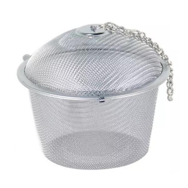 Infusore filtro per tè riutilizzabile del tè del tè della sfera di tè all'ingrosso della maglia dell'acciaio inossidabile che spedice liberamente