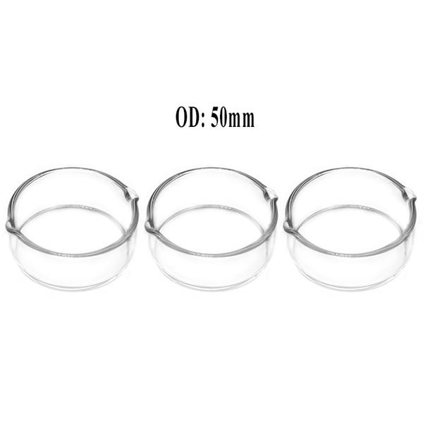 5PCS Oil Ring Ashtray Glass borosilicate Glass Ash straw Dish Oil Rig Dish Dabber Dab Tool Free Shipping