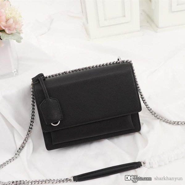 New fashion lady single-shoulder bag designer luxury leather production of large capacity top quality high-end Limited chain bag NB:26606