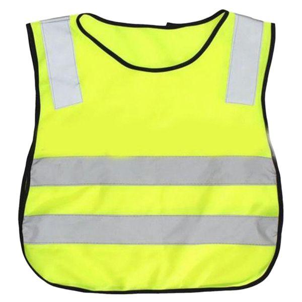 Child Safety Vest, Children'S School Hygiene Worker Vest Child Safety Vest (Yellow)