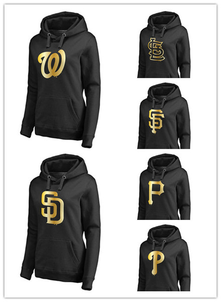size 40 b8c69 21c0e 2018 2018 Women'S New Sweater Pirates San Diego Padres San Francisco Giants  Cardinals National Gold Series Pullover Hoodie Sweatshirts From Pc0004, ...