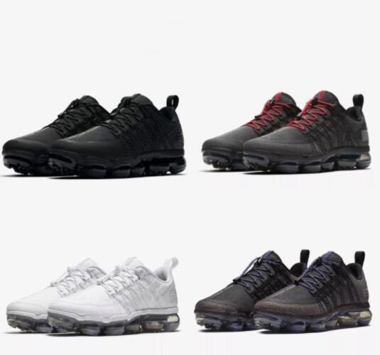 2018 nuevas zapatillas de running aire Run UTILITY para hombre zapatillas de deporte triple blanco negro oliva borgoña Crush para hombre zapatillas deportivas