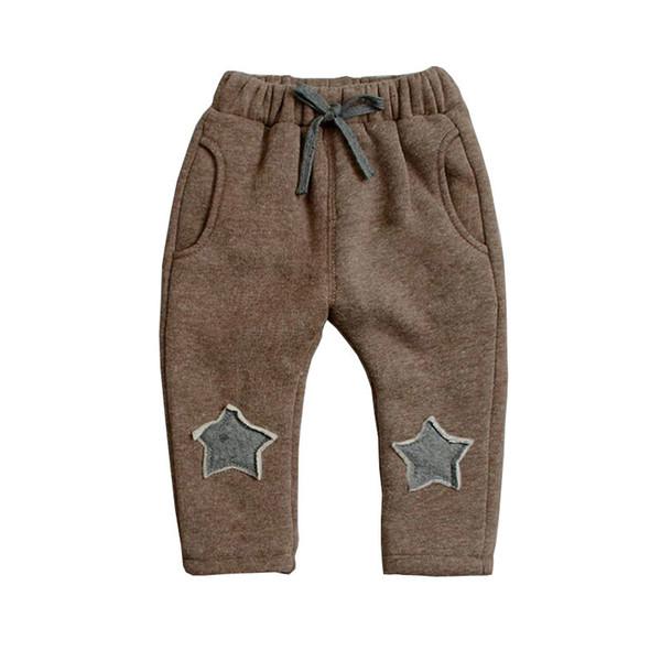 623c6c0ab Compre Calidad De Bebés Varones De Invierno Cálido Algodón Bebés Niños  Niñas Pantalones Niños Niños Pantalones Niños Niñas Ropa Primavera ...