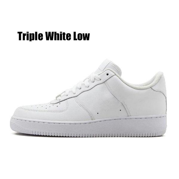 Triple White Low