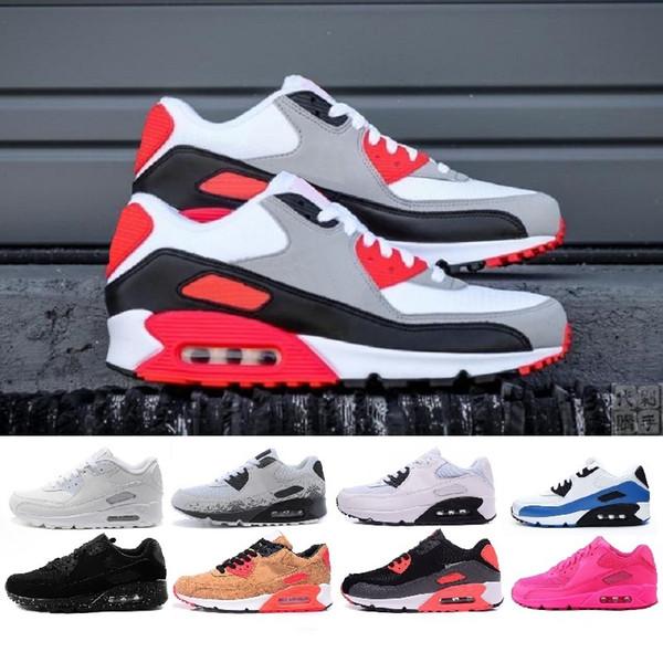 Auténtico Nuevo Nike Air Max 90 Zapatos Deportivos De Color