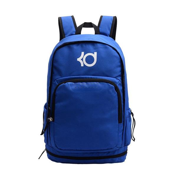 top popular Kevin Durant KD Designer Backpack Famous Brand Men Women Designer Backpacks Teenager Black Blue Red Grey Outdoor Bags 4 Colour 2019