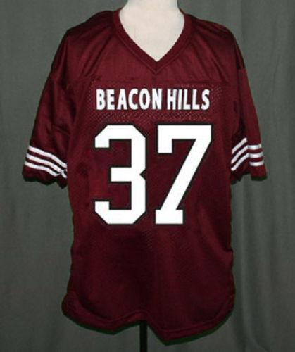 TEEN WOLF JERSEY JACKSON WHITTEMORE BEACON HILLS LACROSSE Embroidery Stitched Customize any size and name