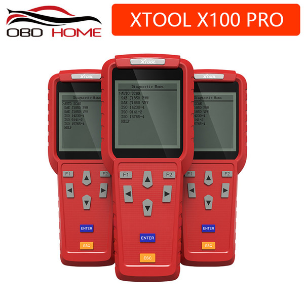 Car Diagnostic tool XTOOL X100 Pro OBD2 Auto Key Programmer/Mileage adjustment Including EEPROM Code Reader with Free Update