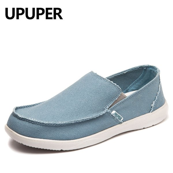 Scarpe da ginnastica UPUPER Sneakers da uomo traspiranti Mocassini ultra leggeri Slip-On Scarpe casual da uomo Vendita calda Spring Walking Flat # 7065