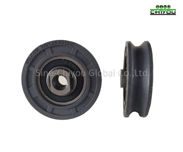 best selling Elevator Selcom door parts hanging wheel 56mm*16 6202 selcom lift 1piece only