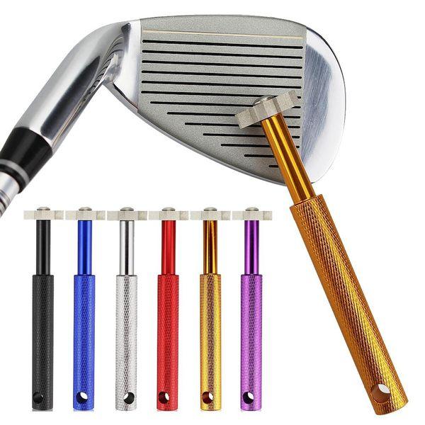 HobbyLane Beruf Eisen Wedge Golf Club Groove Sharpener Reinigungswerkzeug Reiniger Platz mit durchsichtigem Kunststoff Fall Golf-Zubehör