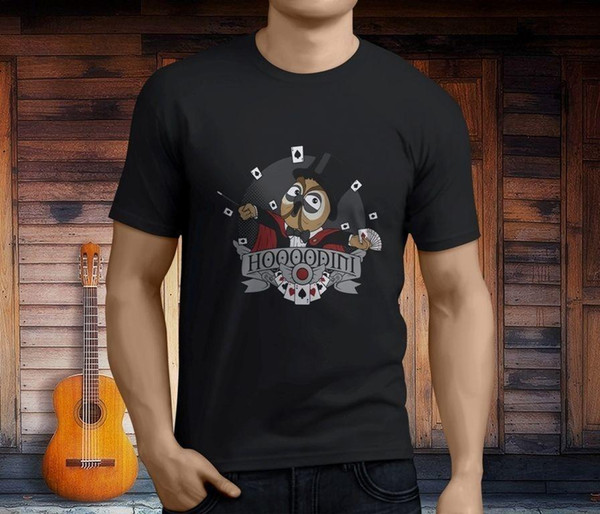 Nova Vanoss Coruja jogo Engraçado dos homens T-Shirt Preta Tamanho S-3XL custom t engraçado legal design o seu próprio personalizado